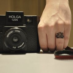 I will love photography forever, why not get it on a ring finger...