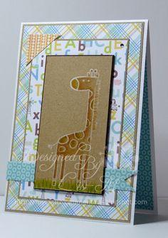 My Mum's Craft Shop: Sweet Safari, My Favorite Things, MFT, Lis Murphy, Design Team, Cards