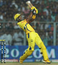 Dwayne Bravo slammed the last ball of the match for six to hand Chennai Super Kings a victory over Kolkata Knight Riders