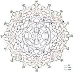 [13. 티코스터도안] 꽃보다 예쁜 코바늘 티코스터 중앙을 연두색으로 해서 떠 볼까해요....