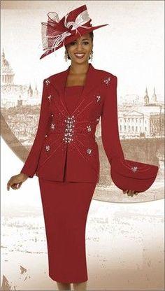 2014 first lady women's church suits Church Attire, Church Outfits, Church Clothes, Women Church Suits, Suits For Women, Clothes For Women, Suit Fashion, High Fashion, Beautiful Dresses
