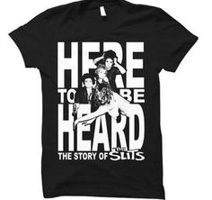 """Here to be Heard: the Story of The Slits  slitsdoc.com   """"HERE TO BE HEARD"""" The Story of The Slits"""" is a film about the world's first all girl punk band who formed in London in 1976, contemporaries ofThe Clash & The Sex Pistols, they are the pioneering godmothers ofthe musical movement known as """"Punky Reggae"""". The filmtells thestory of the band and the lives of the women involved, from the bands inception in 1976 to the bands endin 2010 coinciding at the death of lead vocalist Ari Up."""