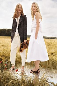 Chloe Resort '13, loving that drawstring and not-quite-a-blazer combo...and those sandals!