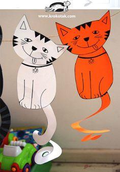 SOS PROFESSOR-ATIVIDADES: O Gato - Mural