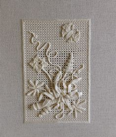 An Italian Garden in Casalguidi Embroidery ~ needlework course by Shelley Cox at the RSN