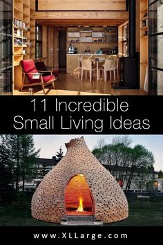 11 Great small home ideas. Discover the art of living in a small space. These small living ideas will inspire and give you some great home ideas for small spaces. Small Space Living, Art Of Living, Small Spaces, Big Houses, Tiny House, The Incredibles, Inspire, Live, Inspiration