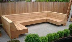 Image result for bouwtekening hoek tuinbank