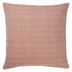Paprika Diamonds Cushion  | Red Cushion | Colours for Autumn | ColourPuff.com