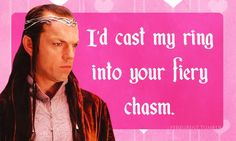 Elrond Lord of the Rings Valentine