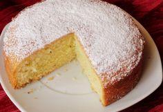 Citromos sütemény Glasertől   NOSALTY Plain Cake, Kakao, Cornbread, Vanilla Cake, Cake Recipes, Cheesecake, Ethnic Recipes, Food, Cooking