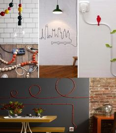 12 Smart DIY Ideas To Hide The Wires in The Wall Room - http://www.amazinginteriordesign.com/12-smart-diy-ideas-to-hide-the-wires-in-the-wall-room/