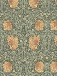Morris and Co Pimpernel Wallpaper - 210388