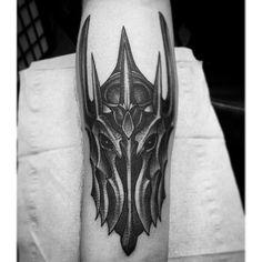 """Top start on this Sauron tatt by @tashawild on @mexkskog!"""