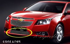 For Chevrolet Cruze 2009-2014 Front Bottom Racing Grill Grille Cover Trim High Quality New Aluminum Alloy #Affiliate