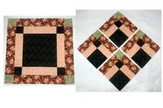 Sew and Slice Bonnie Scotsman Quilt Block - Janet Wickell