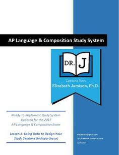 This is the beginning of my comprehensive, GROWING bundle of AP Language study session resources. Have you ever wondered why your students' AP Scores are not increasing, despite practice after practice? Session 1 offers two data charts and strategies to turn multiple-choice test scores into personalized learning strategies.