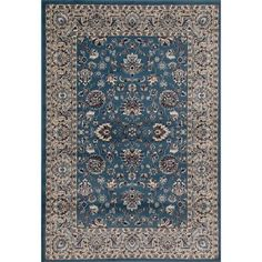 Classic Traditional Woven Bordered Area Rug, 030