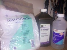 Cotton balls, peroxide, and witch hazel. My mom made this mixture for me all you do is put cotton balls in a ziplock bag add as much peroxide and witch hazel but make sure its equal between the two. This gets rid of acne it also helps with dark spots or scars. You must be consistent though. I use it at bed time and its done my skin good. The peroxide also bleaches hair on your face! This stuff works.  P.s be sure to not get it on your eyebrows too much or those will also get lighter from the…