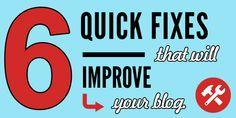 6 Quick Fixes That W
