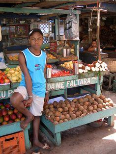 woman vendor at the market, Salvador, Bahia, Brasil (Brazil)