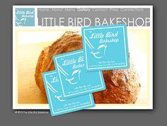 Little Bird Bakeshop sticker