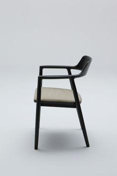 Hiroshima Arm Chair Upholstered   SeehoSu