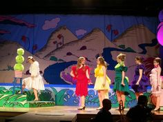 Living with Jane: Seussical the Musical 2012 costume designer's blog