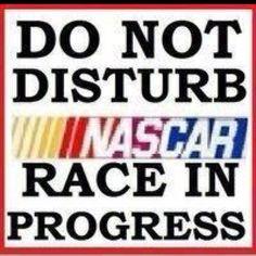 Love my NASCAR!!!!