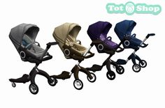 "totshop: "" SimSima Xplory: The Ultimate Connection Stroller With pioneering seat height adjustability, the iconic SimSima Xplory® brings your baby closer promoting interaction while you explore the..."