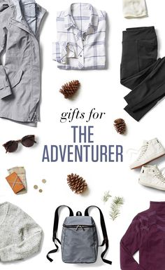 For the sightseer, globetrotter and wandering wayfarer in your life—the ultimate gear to fuel her explorations.