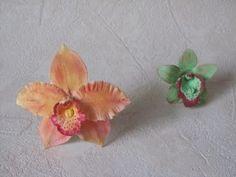 Fiori in pasta di zucchero: orchidee (Parte 2 di 2) - YouTube