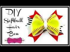 How to Make a Softball Hair Bow - with REAL Softball – Hairbow Supplies, Etc.