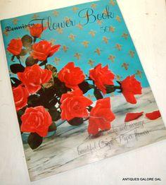 Dennison Flower Book Make and Arrange Crete by AntiquesGaloreGal