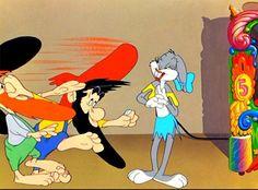 "Bugs Bunny Hatfield n McCoy's--""Swing yer partner round-n-round, kick em in da butt an knock em down!"""