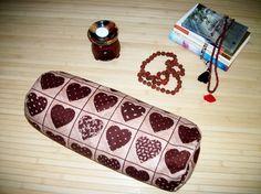 Bolster Pillow. Meditation Prop. Home Decor Pillow. by ZafuChi