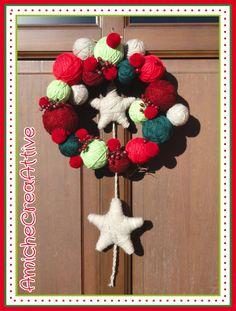 xmas wreath by AmicheCreaAttive