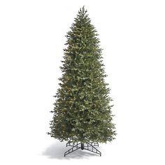 Fraser Slim Artificial Pre-lit Christmas Tree