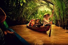 Mekong Delta | HOME SWEET WORLD  Just like my trip up-country with Buley but in Thailand.