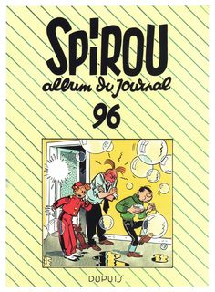 Fausse couverture Spirou: Yves Chaland