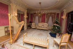 Moss Mansion French drawing room