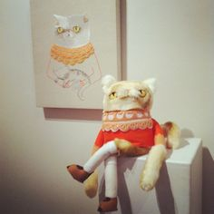 CatRabbit - fun cat and embroidery.