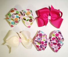 Sweet set of 4 perfectly pretty colors everyday by Withbowsontop