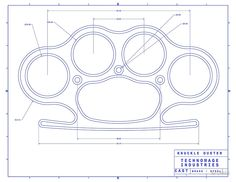 knuckle duster blue schematic