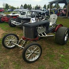 Cool hot rod tractor