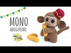 Tutorial Mono Amigurumi | Crochet o Ganchillo