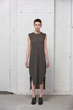 Cold Dyed Knit Dress