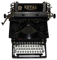 Royal Typewriter Circa 1910