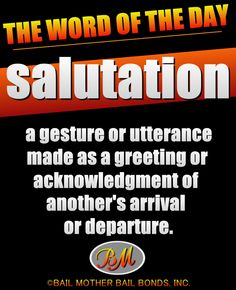 salutation