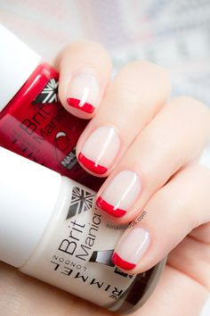 Elegant French nails. Click for more info. #nails