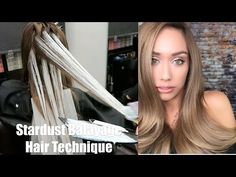 Stardust Balayage Hair Technique - YouTube